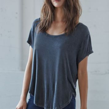 Me To We Mineral Wash Slouchy T-Shirt - Womens Tee