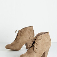 Menswear Inspired Have I Got Shoes for You! Bootie by ModCloth