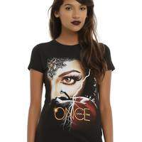 Once Upon A Time Regina Black Apple T-Shirt