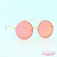 Golden Round Sunglasses
