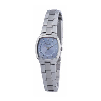 Kenneth Cole Reaction KC4333 Women's Blue Dial Silver Stainless Steel Strap Bracelet Watch
