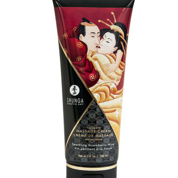 Kissable Massage Cream - Sparkling Strawberry Wine (7 fl. oz.)