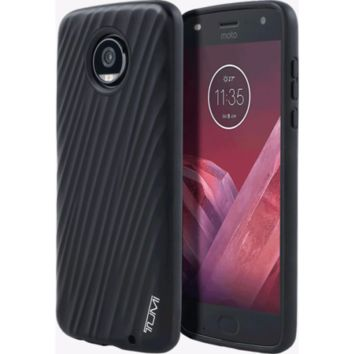 TUMI 19 Degree Case Cover for Motorola Moto Z2 Play Black
