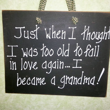 Custom Grandma, Nana, Mimi sign, Grandchildren sign, mothers day gift, gift for her