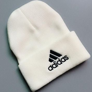 Adidas Fashion Casual Women Men Crochet Hat