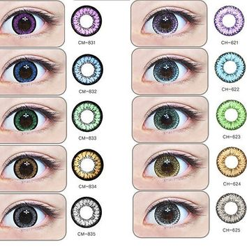 GEO Medical Magic Angel Color - Authentic Circle Lens | EyeCandy's