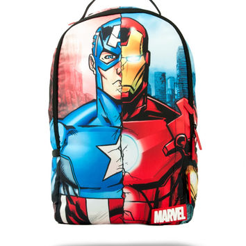Marvel Civil War Backpack (SPRAYGROUND)