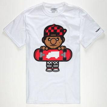 Trukfit Tommy Mens T-Shirt White  In Sizes