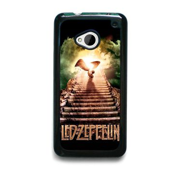 LED ZEPPELIN STAIRWAY TO HEAVEN HTC One M7 Case Cover