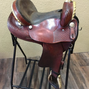"15"" Circle M Barrel Saddle"