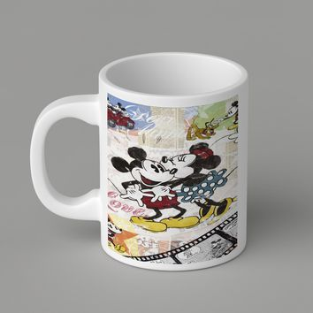 Gift Mugs | Disney Mickey And Minnie Mouse Dancing Ceramic Coffee Mugs