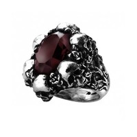 """Shadow of Death"" Ring by Alchemy of England"
