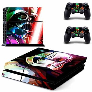 Vinyl Sticker PS4 Skin Decal Sticker Star Wars: Battle Front II For PlayStation4 Console and 2 controller skins