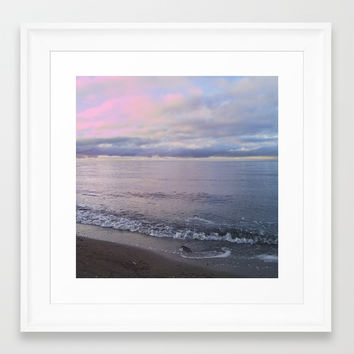 Serenity Framed Art Print by Marco Gonzalez