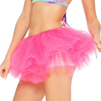 Fuchsia Long Length 5-layer Tutu