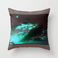 Clouds serie # 1 Throw Pillow by Mittelbach Marenco Florencia