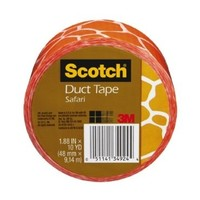 Scotch Duct Tape, Safari, 1.88-Inch by 10-Yard