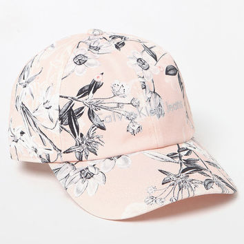 Calvin Klein Floral Strapback Dad Hat at PacSun.com