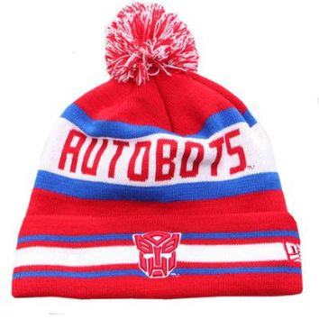 New Era Movie Character Beanie Transformers Autobots Jake hat One size