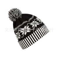 Beanie New Arrival Acrylic Adult Unisex Casual Solid 2017 New Autumn And Winter Male Snow Cuffs Knit Hat Ball Cap For Lady