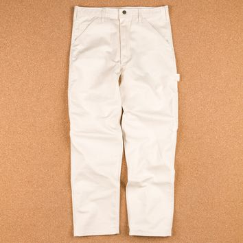 Stan Ray Single Front Painter Pant Trousers - Natural
