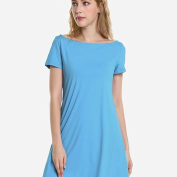 Dolman T-Shirt Dress