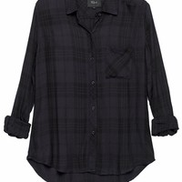 Rails Hunter Plaid Shirt in Carbon/Black