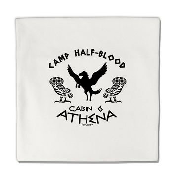 "Camp Half Blood Cabin 6 Athena Micro Fleece 14""x14"" Pillow Sham by TooLoud"