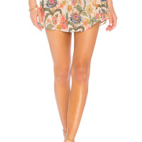 Show Me Your Mumu The Great Wrap Shorts in Bloomtastic