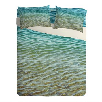 Shannon Clark Ombre Sea Sheet Set Lightweight