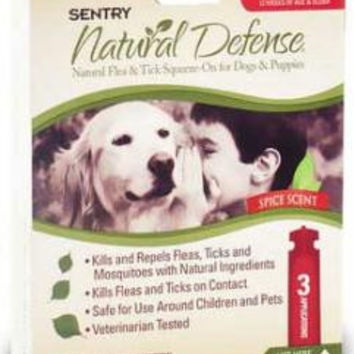 Sergeant's Natural Flea/Tick Squeeze-On for Dogs
