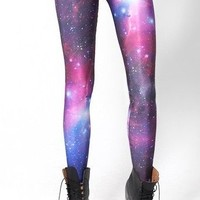 Popular Comfortable Punk Classic Galaxy Women Girl Pants Leggings Funky Dancer