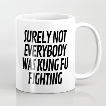 Surely Not Everybody Was Kung Fu Fighting Art Print by CreativeAngel