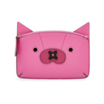 Pig Leather Coin Purse - Anya Hindmarch | WOMEN | US STYLEBOP.COM