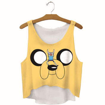 Summer Womens Funny Dog Printed Show Hilum Tank Top Slim Sports Vest Gift - 57