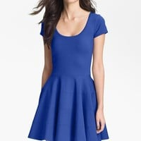 Women's FELICITY & COCO Ponte Knit Fit & Flare Dress (Nordstrom Exclusive)