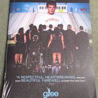 GLEE~2014 SEALED EMMY DVD~THE QUARTERBACK~TRIBUTE TO CORY MONTEITH~LEA MICHELE