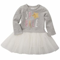Mud Pie Sparkle Sweatshirt and Tutu Dress