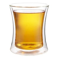 Double walled insulated glass cup - 2 sizes