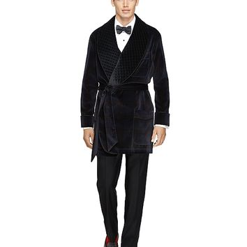 Men's Signature Tartan Smoking Jacket