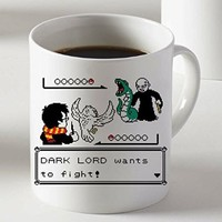 Harry Potter Versus Lord Voldemort Dark Lord Wants to Fight Mug Two Sides