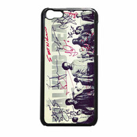 The Walking Dead Black iPhone 5c Case