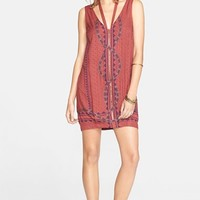 Women's Free People 'Diamonds & Snakes' Shift Dress,