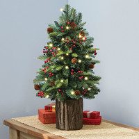 The Tabletop Prelit Christmas Tree