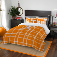 Tennessee Volunteers NCAA Full Comforter Set (Soft & Cozy) (76 x 86)