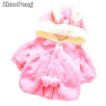 baby girl infant winter coat baby coat baby girl jacket Velour fabric infant garment lovely Bow coat Newborn
