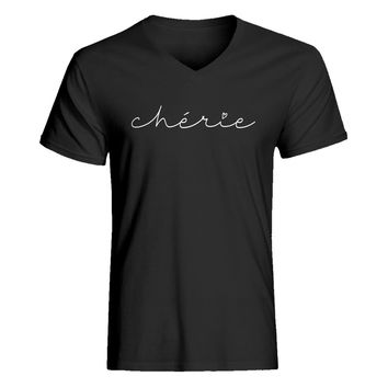Mens Cherie V-Neck T-shirt