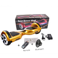 2 Wheel Electric Hoverboard with BLUETOOTH Speaker