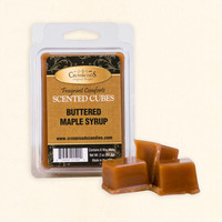 """Butter Maple Syrup"" Scented Wax Melt Cubes-Crossroads"