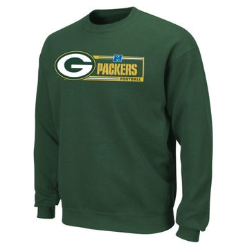 Green Bay Packers Critical Victory VII Crew Sweatshirt - Green